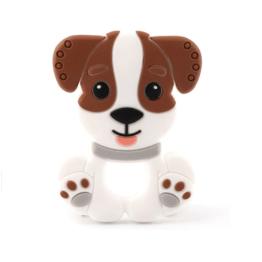 Mordedor infantil cachorrinho em silicone