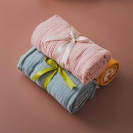 Manta em algodão duplo