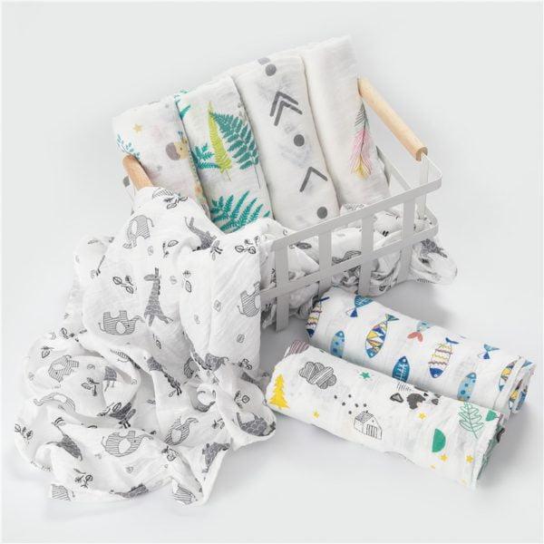 Fraldão 100% algodão multi-uso